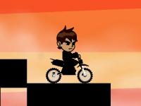 Флеш игра Бен 10: Клевая гонка на байке