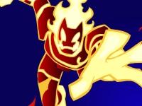 Флеш игра Бен 10: Мастер огня