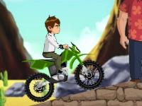 Флеш игра Бен 10: Миссия на мотоцикле