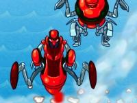 Флеш игра Бен 10: Миссия на реактивном самолете