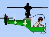 Флеш игра Бен 10: Миссия на вертолете