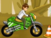 Флеш игра Бен 10: Мощная гонка