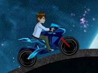 Флеш игра Бен 10: Мото гонка 2