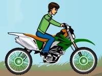 Флеш игра Бен 10: Мотокросс 2