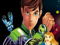 Флеш игра Бен 10: Отличия космических супергероев