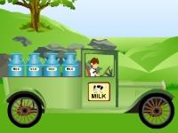 Флеш игра Бен 10: Перевозка молока