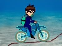 Флеш игра Бен 10: Подводная гонка