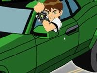 Флеш игра Бен 10: Преследование по автобану