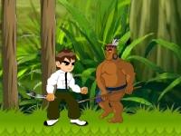 Флеш игра Бен 10: Приключения в джунглях