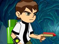 Флеш игра Бен 10: Приключения в пещере