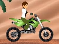 Флеш игра Бен 10: Пустынная гонка