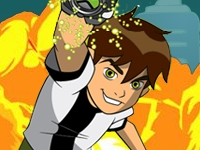 Флеш игра Бен 10: Скоростной бегун