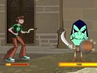 Флеш игра Бен 10: Смертельная битва