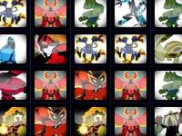 Флеш игра Бен 10: Собери героев