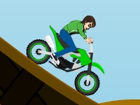 Флеш игра Бен 10: Супер прыжки на байке