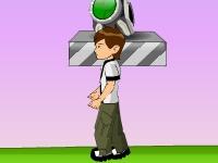 Флеш игра Бен 10: Супер прыжок
