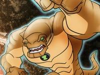 Флеш игра Бен 10: Суперсильный Гумангозавр