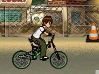 Флеш игра Бен 10: Трюки на улице