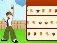 Флеш игра Бен 10: Веселые фрукты