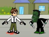 Флеш игра Бен 10: Война с бандой
