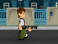 Флеш игра Бен 10: Защита от пришельцев
