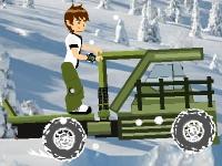 Флеш игра Бен 10: Зимнее приключение