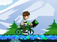 Флеш игра Бен 10: Зимний BMX