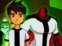 Флеш игра Бен 10 и герои: Пазл
