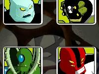 Флеш игра Бен 10 и супергерои: Найди пару