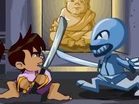 Флеш игра Бен 10 и волшебный меч