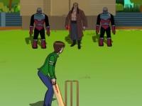 Флеш игра Бен 10 играет в крикет