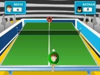 Флеш игра Бен 10 играет в теннис