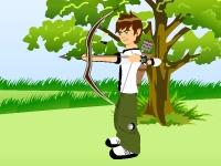 Флеш игра Бен 10 лучник