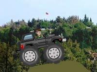 Флеш игра Бен 10 на грузовике-монстре