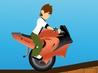 Флеш игра Бен 10 на моноцикле