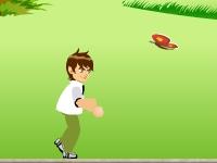Флеш игра Бен 10 на пробежке