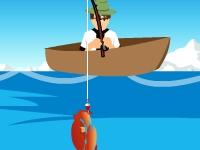 Флеш игра Бен 10 на рыбалке