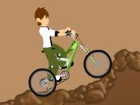 Флеш игра Бен 10 на велосипеде пр бездорожью