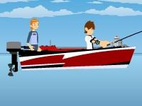 Флеш игра Бен 10: профессиональная рыбалка