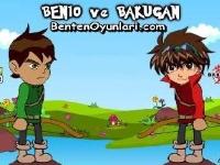 Флеш игра Бен 10 против Бакугана: Пазл