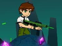 Флеш игра Бен 10 против пришельцев