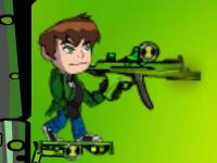 Флеш игра Бен 10 с гранатометом