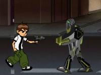 Флеш игра Бен 10 спасает город