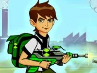 Флеш игра Бен 10 сражается с пришельцами