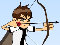 Флеш игра Бен 10 супер стрелок