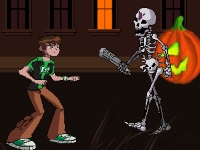 Флеш игра Бен 10 в городе призраков