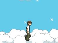 Флеш игра Бен 10 в облаках