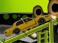 Флеш игра Бен 10 водитель такси