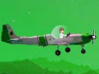 Флеш игра Бен 10: воздушный бой