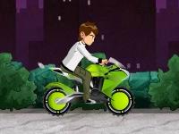 Флеш игра Бен Тен: Экстремальный байкер